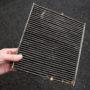znečištěný kabinový filtr