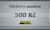 Auto Kelly dárkový poukaz 500 Kč