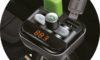 FM Transmitter s Bluetooth, handsfree, USB, SD